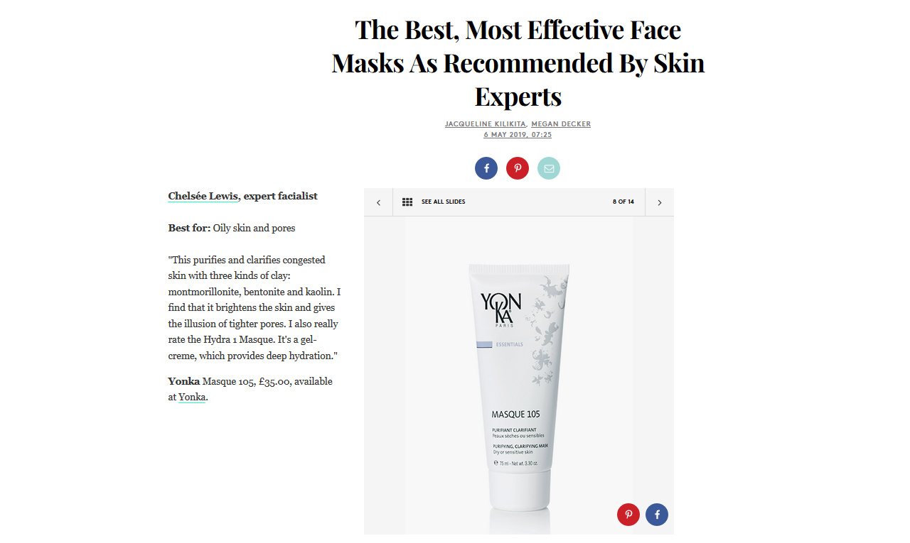 The Best, Most Effective Face Masks As Recommended By Skin Experts