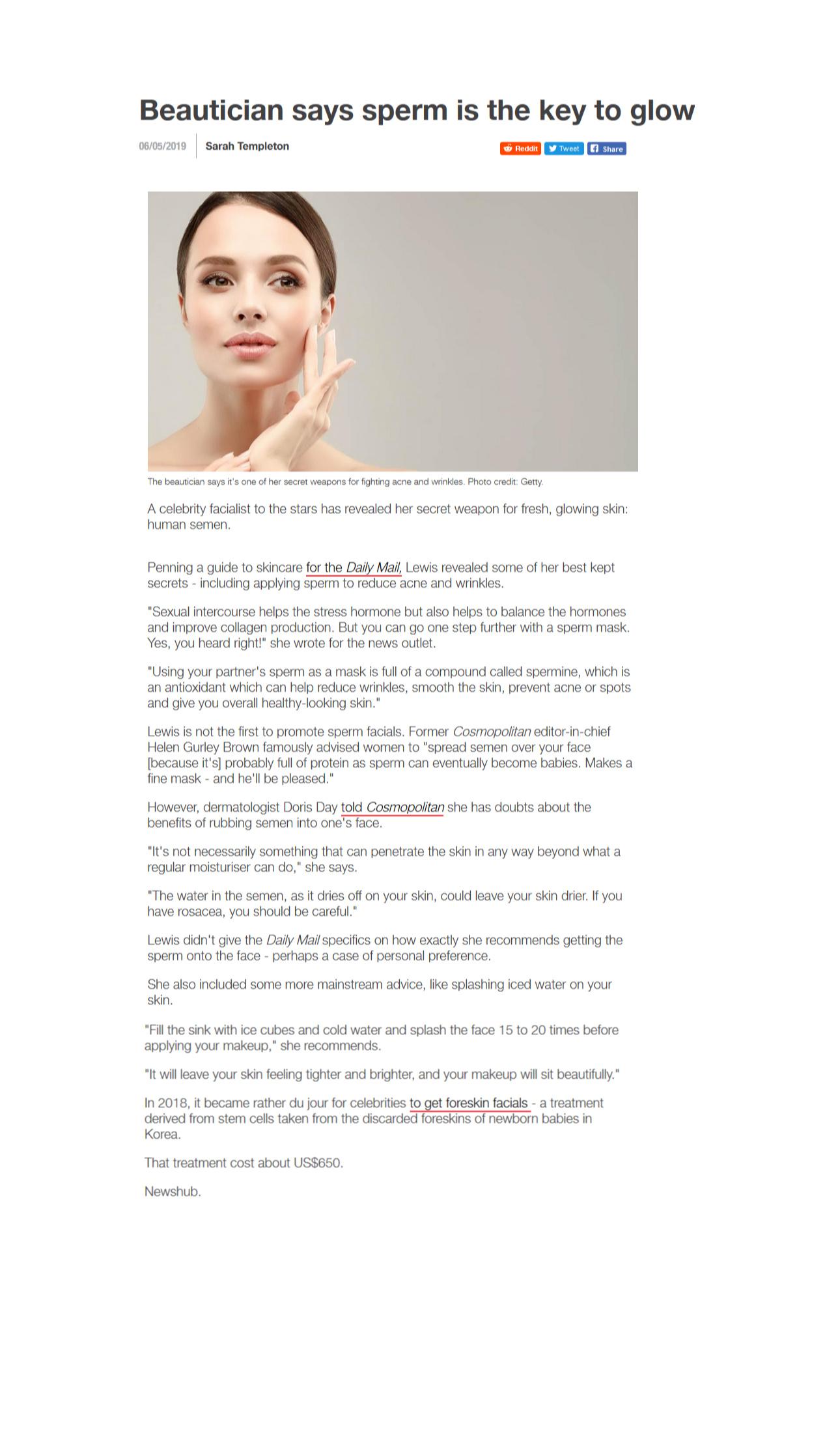Newshub NZ article