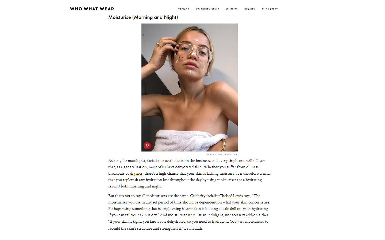 who what wearI article